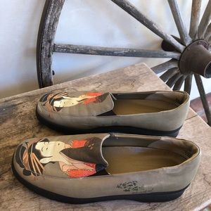 ICON Shoes - ICON Cute Leather Geisha Girl Comfort Loafers 9.5M
